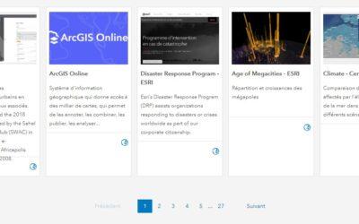 Les géoportails – outils numériques pour analyser les composantes de l'espace