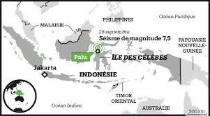Un exemple de séquence en 3e année – Le séisme et le tsunami de Palu – 28 septembre 2018
