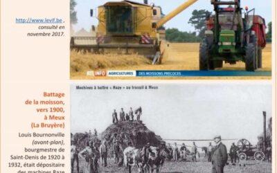 Comparer deux documents traitant de l'activité agricole aux XXe et XXIe siècles