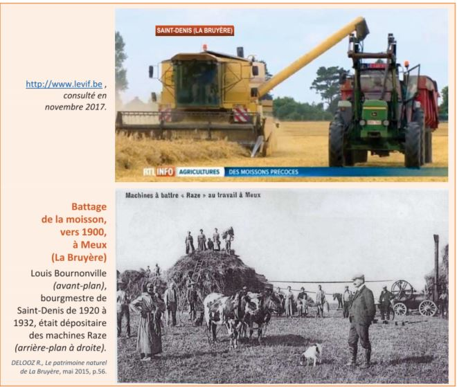 **Comparer deux documents de même nature traitant de l'activité agricole-  2/3 – 2/4 – 2/7 – 2/8
