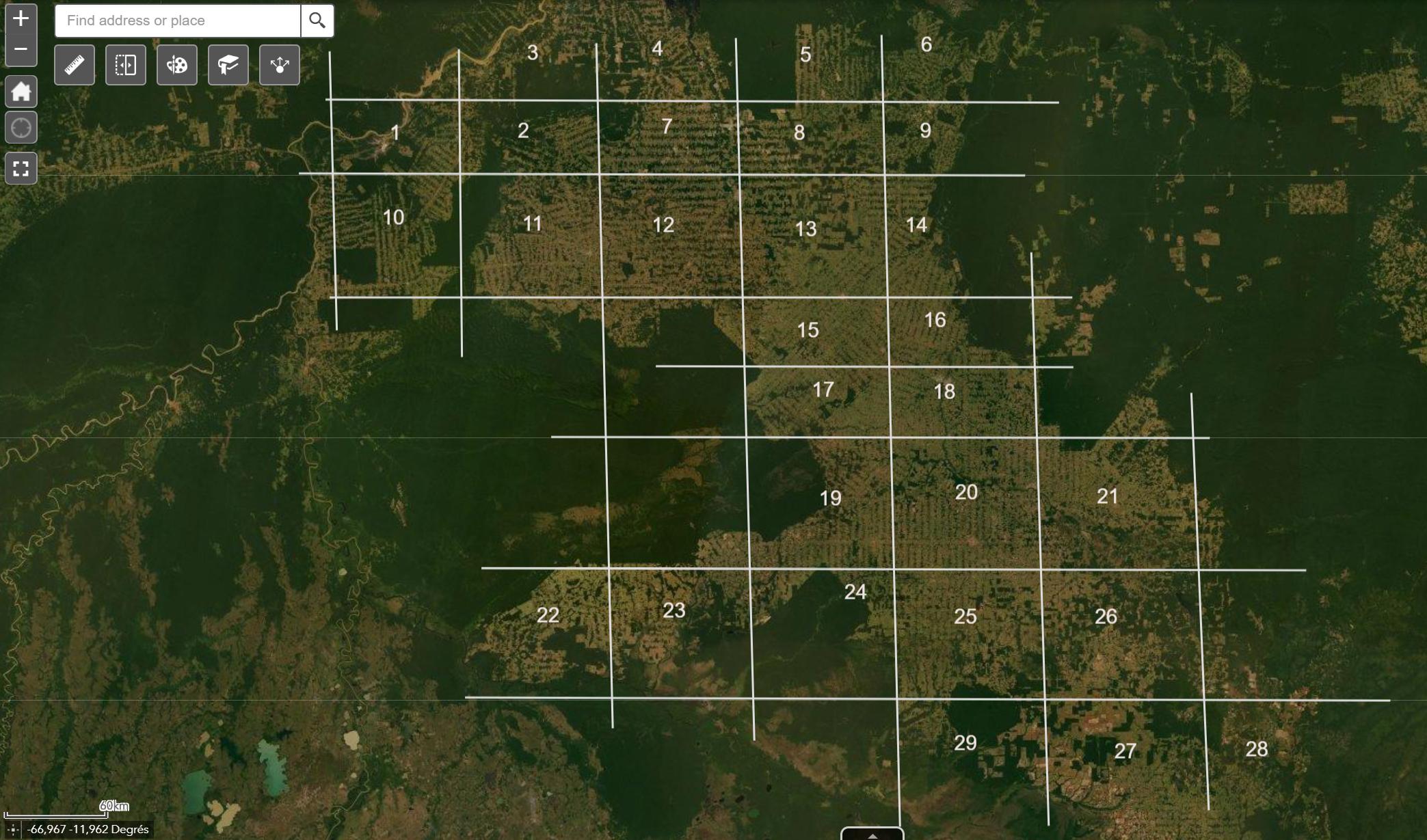 ** Annoter une vue pour caractériser l'occupation du sol – Le cas des espaces déforestés dans l'espace tropical humide
