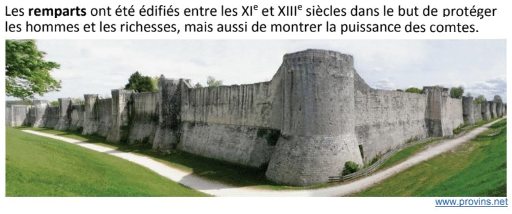 Situer dans le temps des traces de l'histoire de Provins autour de l'an 1000