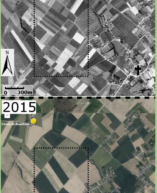 Caractériser la fonction de production agricole – Le remembrement à Saint-Denis