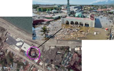 Risques naturels – Justifier la répartition des dégâts suite au séisme et au tsunami de Palu en septembre 2018 (4e)