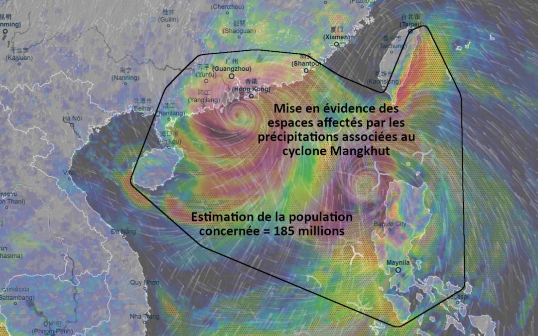 Risques naturels – Les inondations associées aux cyclones Florence et Mangkhut en septembre 2018 (4e)