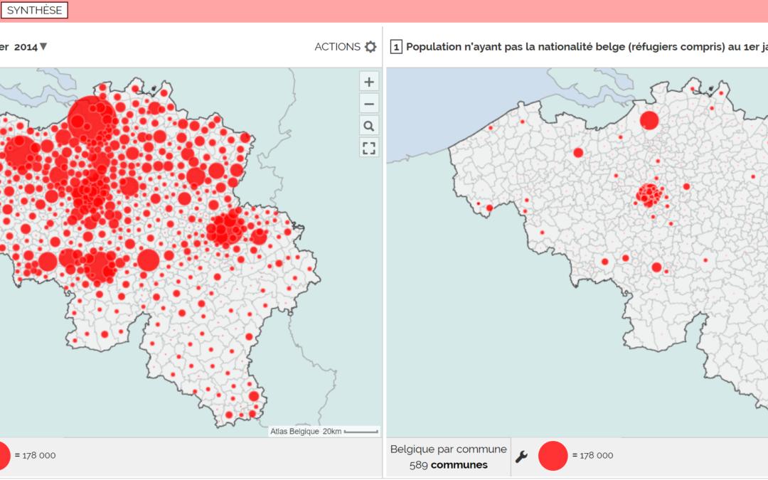 Flux migratoires – Justifier la répartition des populations étrangères en Belgique (3e)