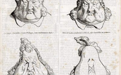 La caricature du Moyen-Age au 20e siècle