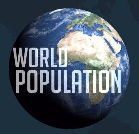 Ligne du temps et carte interactives de la population mondiale
