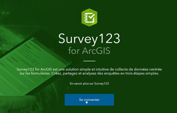 Survey123 pour récolter et mutualiser les observations des élèves (sur le terrain ou dans un atlas)