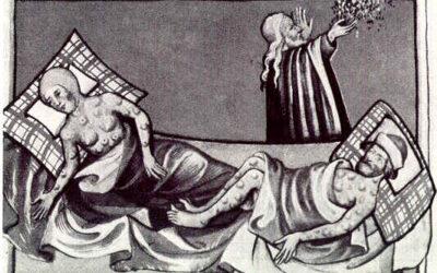 Critiquer – Distinguer une trace d'un travail – les épidémies au Moyen-Age