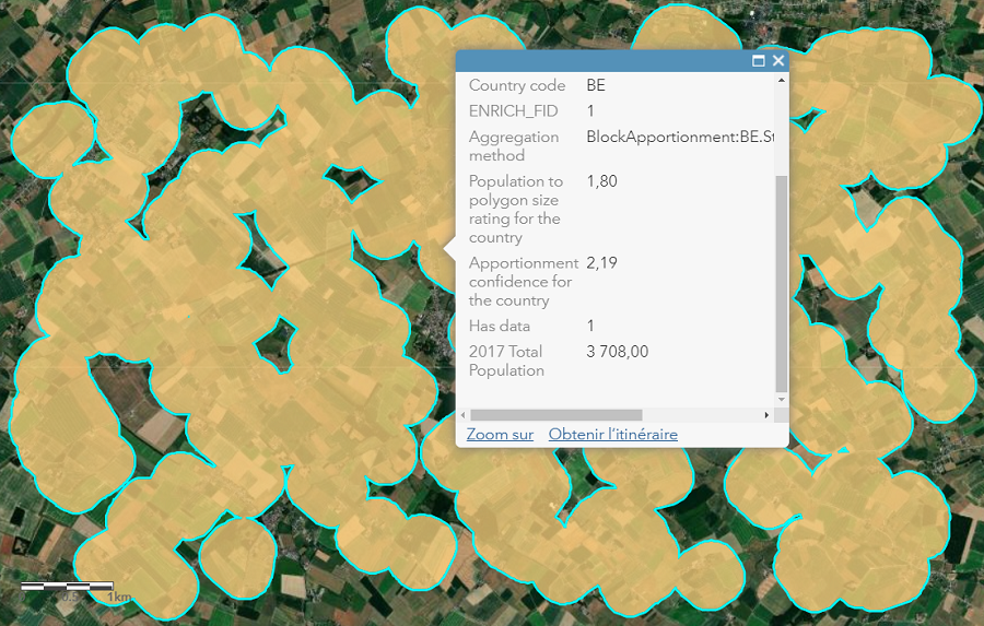 Caractériser le risque de l'exposition aux pesticides en réalisant des analyses spatiales en Wallonie