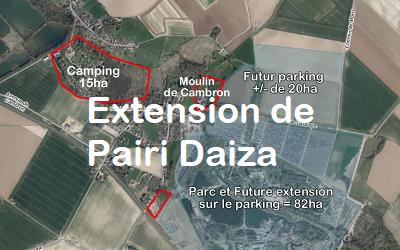 Aménagement du territoire – Extension du parc Pairi Daiza