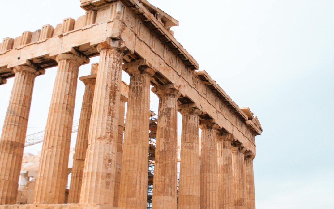 L'Acropole d'Athènes en 3D