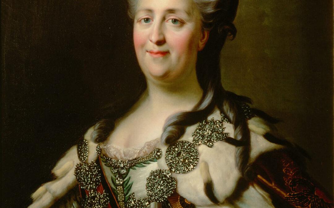 Comparer et contextualiser : Les philosophes des Lumières et le pouvoir, l'exemple de Catherine II de Russie