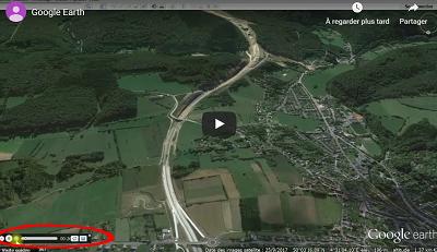 Google Earth – Créer le survol d'un espace, des repères et un profil du relief