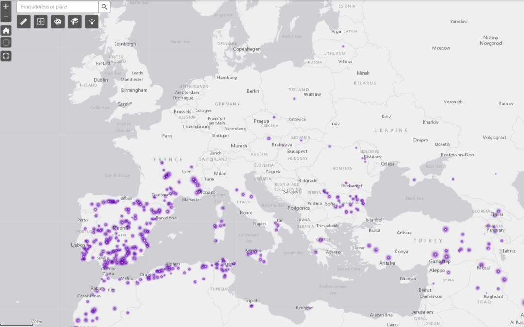 Accès à l'eau – Justifier la répartition spatiale des barrages pour l'irrigation autour de la Méditerranée (4e)