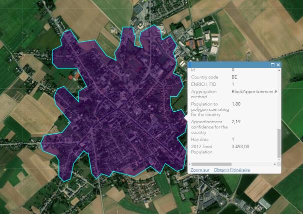 Analyses spatiales à l'échelle locale