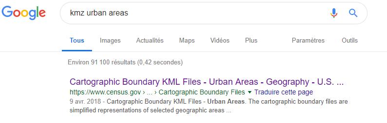 Comment ajouter des couches de données spécifiques dans Google Earth