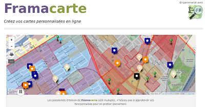 Créer une carte collaborative – L'exemple de Framacarte