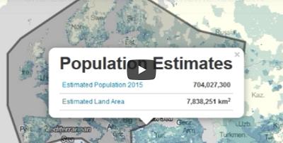 L'estimateur de population du Sedac