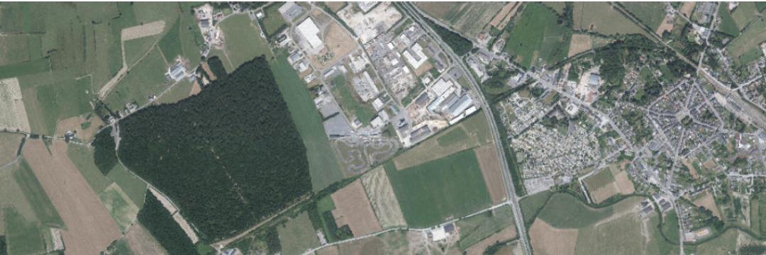 Créer la légende d'une carte sur base de l'identification des composantes du paysage  sur une vue aérienne verticale (savoir-faire)