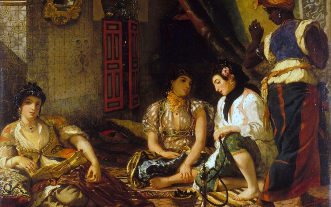 Héritages culturels – Situer dans le temps (lire une ligne du temps) l'orientalisme (4e)