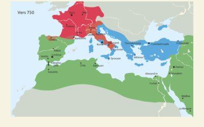 Comparer des évolutions territoriales: le monde musulman et l'occident médiéval
