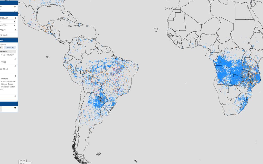 Déforestation – Justifier la répartition des incendies en Amérique Latine et en Afrique (5e)