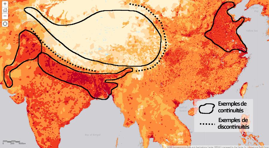 Concepts géographiques – Continuités / discontinuités spatiales