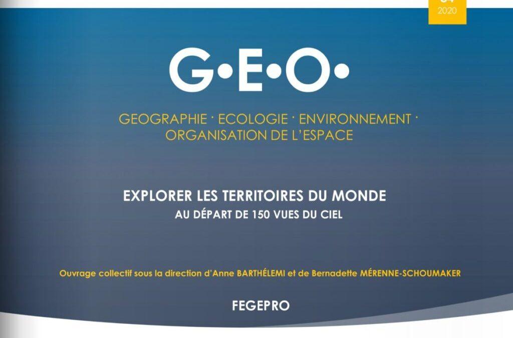 GEO84 – UNE NOUVELLE PUBLICATION DE LA FEGEPRO À NE PAS MANQUER
