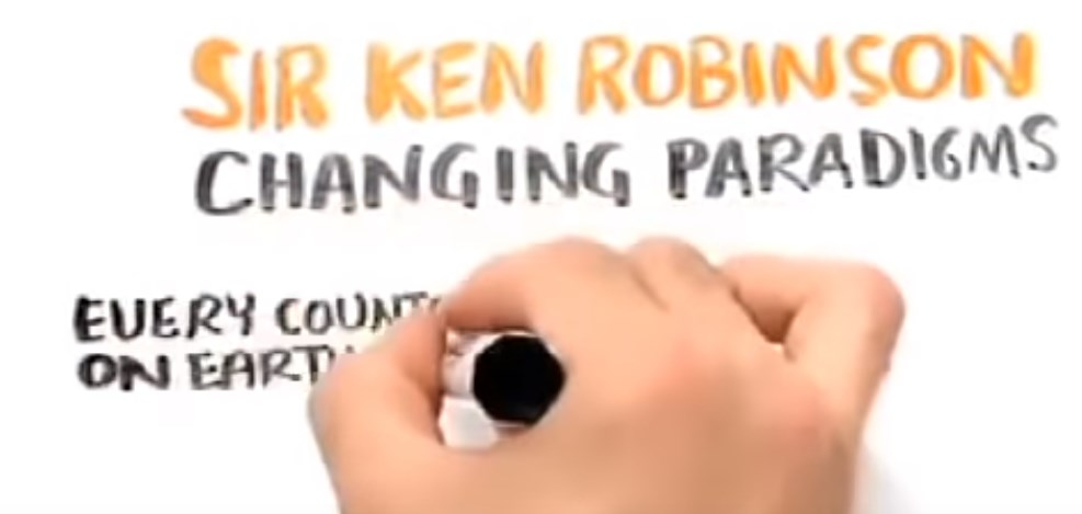 Conférence de Ken Robinson sur le changement de paradigme du système d'éducation