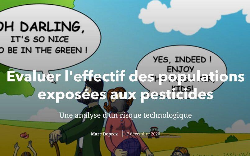 Annoter une carte et texte pour décrire l'exposition aux pesticides (Story Maps)