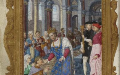 Le pouvoir royal de droit divin : les rois thaumaturges