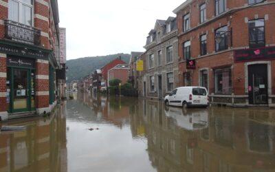 Décrire la répartition de l'aléa et du risque – Inondation dans la région liégeoise juillet 2021