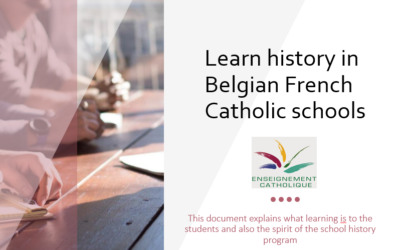 Learning and teaching history